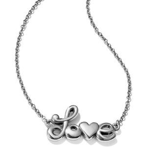 BRIGHTON Love Is All You Need Silver necklace